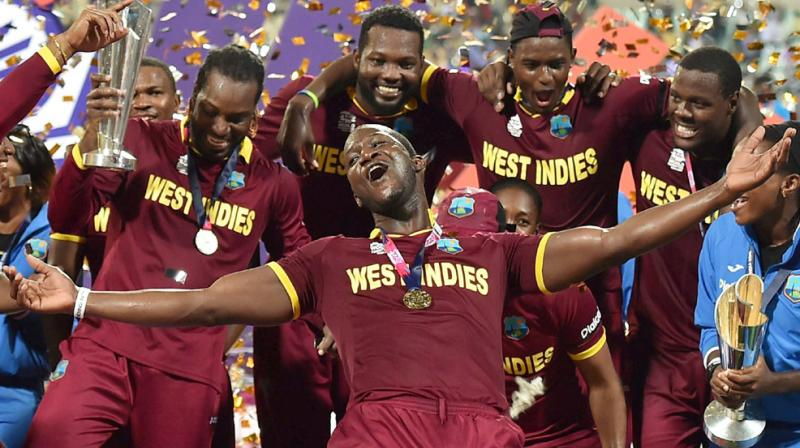 Chris Gayle's recent form promises batting fireworks from the swashbuckling opener in his fifth and final World Cup and offers plenty of hope to a West Indies team finally showing signs of a resurgence. (Photo: AFP)