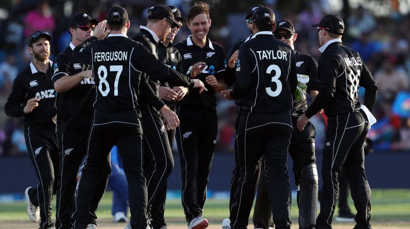 Having humbled favourites India by six wickets in a warm-up game, New Zealand will enter the World Cup feeling optimistic of finally winning it after four and half decades of trying. (Photo:AFP)