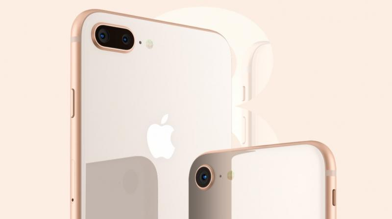 The iPhone 8 comes with a 4.7-inch Retina HD True Tone display and also features IP67 water and dust resistant certifications.