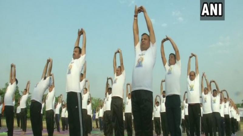 The concept of yoga day was formally proposed by Prime Minister Narendra Modi in India during his first-year tenure. (Photo: ANI)
