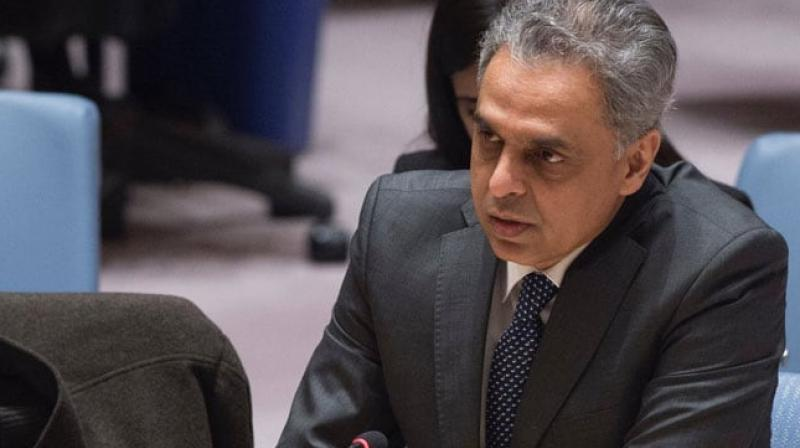 The terrorist activities of the Taliban, the Haqqani Network, ISIS as well as al-Qaeda and its proscribed affiliates the LeT and the JeM need to end, Akbaruddin said. (Photo: Tweeter)
