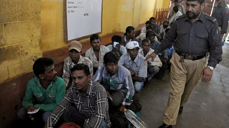 'These 578 prisoners are not even any detectives, they are fishermen who had lost their ways,' says Lok Sabha member Vinod Kumar Sonkar. (Photo: AFP | Representational)