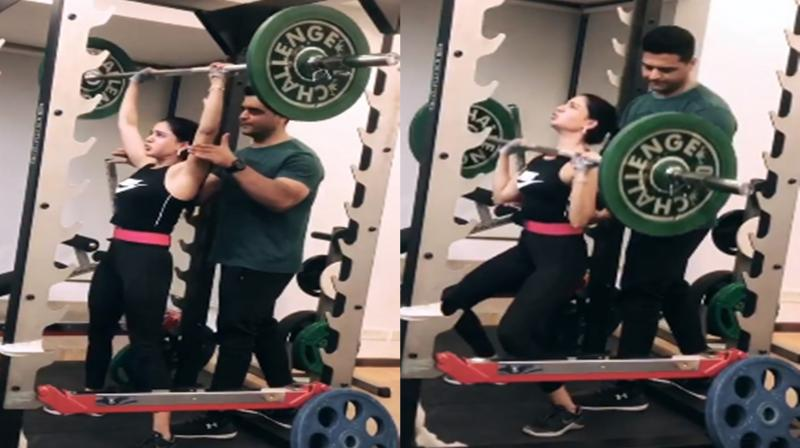 Samantha Akkineni workout. (Photo: Instagram)