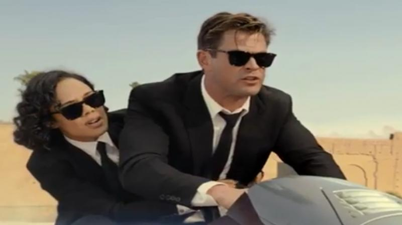 Screengrab from Men In Black: International trailer. (Photo: Instagram)