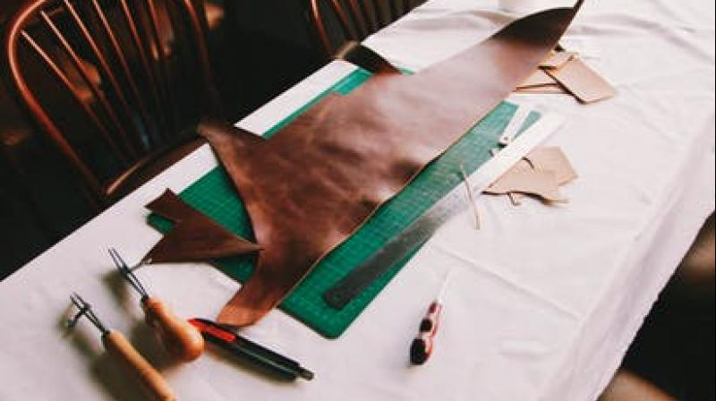 British capital's first of its kind artisanal leather brand from India
