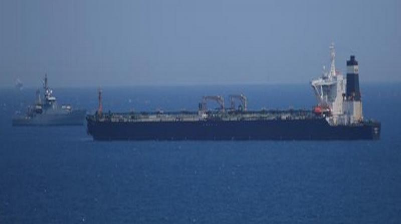 Iranian oil tanker seized by British Royal Marines. (Photo: ANI)