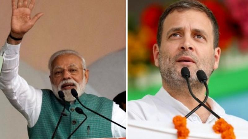It will be the first public meeting for Modi after his spectacular victory and for Rahul, it will be first major public appearance after the debacle in the Lok Sabha elections. (Photo: File)