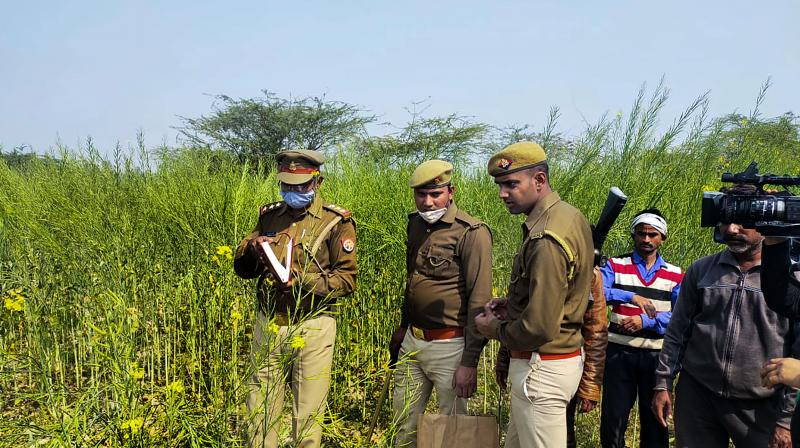 The girl's body was fond in a field when her family members started searching for her, police said. (Representational Image/PTI)