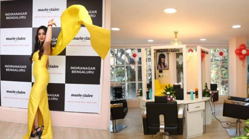 The Salon& Wellness, which is Marie Claire Paris' sixthoutlet in Bengaluru, is brought to the country by B2C Network LLP