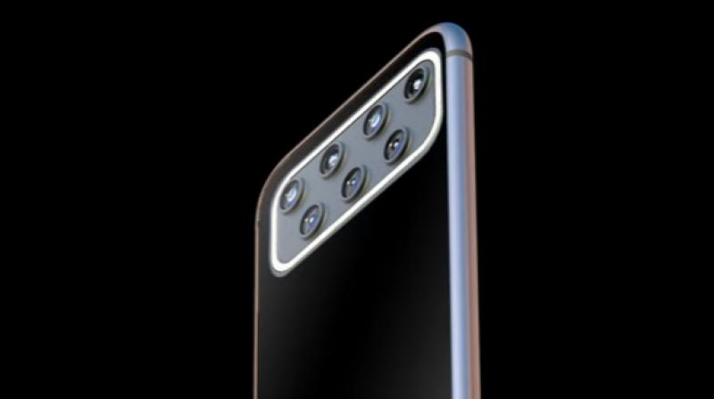 This iPhone 12 comes with not three but seven rear cameras.