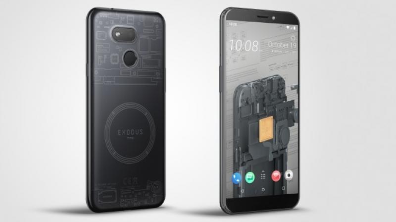 HTC Exodus 1S.