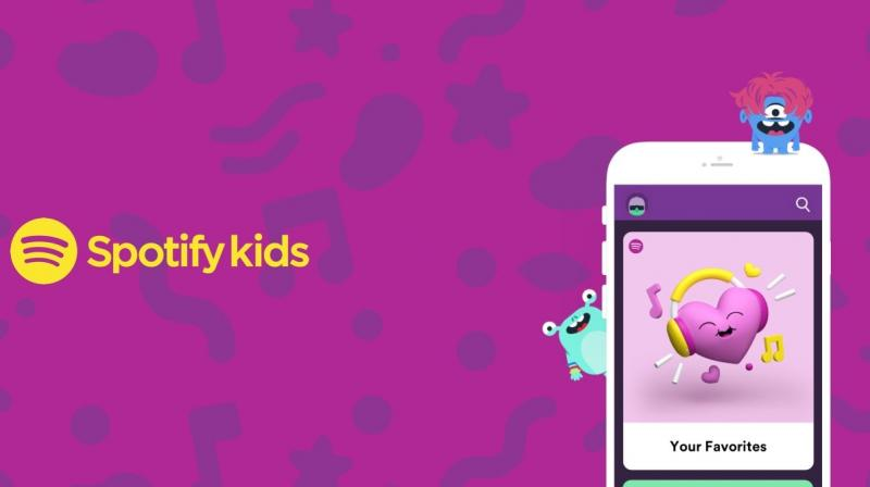 Spotify Kids app is a composite of playlists, which is easy for kids to find music and stories from their favourite movies or TV shows.