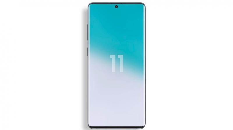 The Samsung Galaxy S11 to come with slimmer bezels. (Photo: Ice Universe)