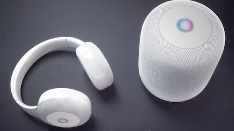 Apple working on AR headphones.