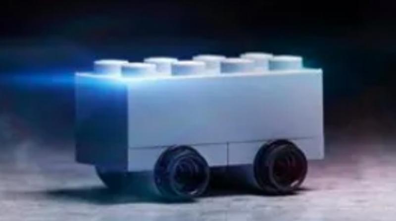 Lego takes a stab at Tesla.