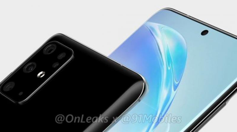 Samsung is planning on adding a quad-108MP camera setup here thereby elevating Samsung's standing in the camera smartphone category quite significantly. (Photo: @OnLeaks and 91Mobiles)