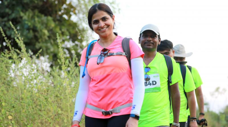 Oxfam Trailwalker India is an environmental sustainable event.