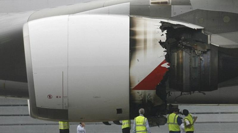 An unnamed passenger on board said that he could smell something burning. (Photo: AP/Representational)