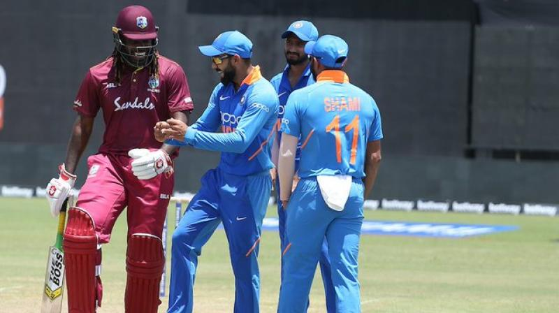 As Kerala gears up to host the second T20I of the three-match series between India and West Indies, Kerala Cricket Association's (KCA) official on Friday said that the preparations for the match have been going on since three months and the pitch would be a sporting wicket. (Photo:BCCI)