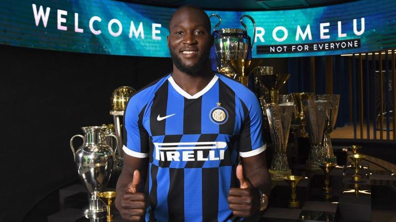 Romelu Lukaku, who spent two years with United, joined Inter MIlan for a fee reported to be around 80 million euros. (Photo: INterMilan/Twitter)