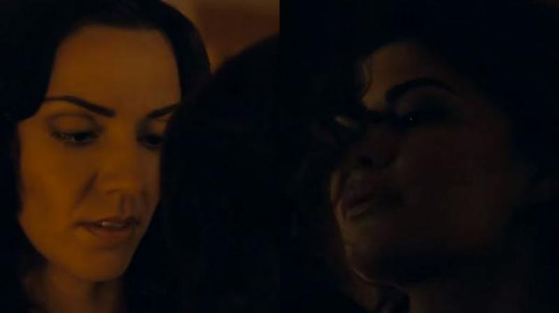 Jacqueline Fernandez in the trailer of 'Definition Of Fear'.