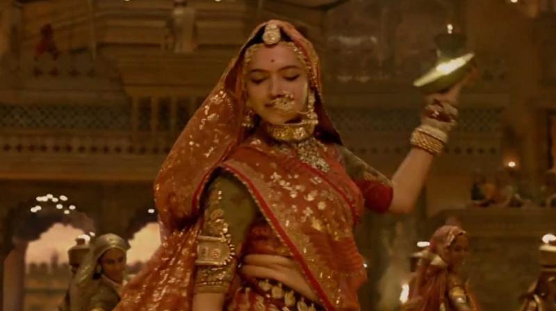 Deepika Padukone in a still from 'Padmavati.'
