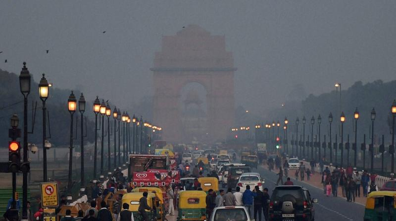 Rain has been lashing Delhi for a few days now, but it had failed to give any good air quality because of intermittent spells.  (Photo: PTI/Representational)