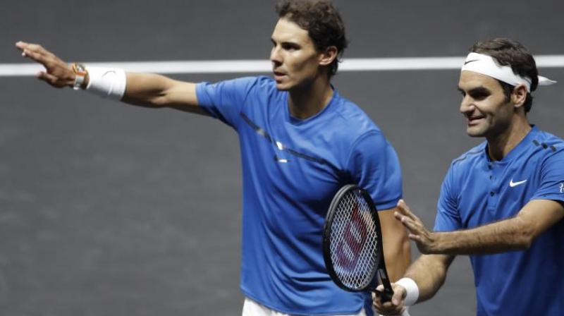 Nadal, who certainly enjoys playing on clay, had earlier vented his frustration about the hard-court surface at the ATP Finals. (Photo:AP)