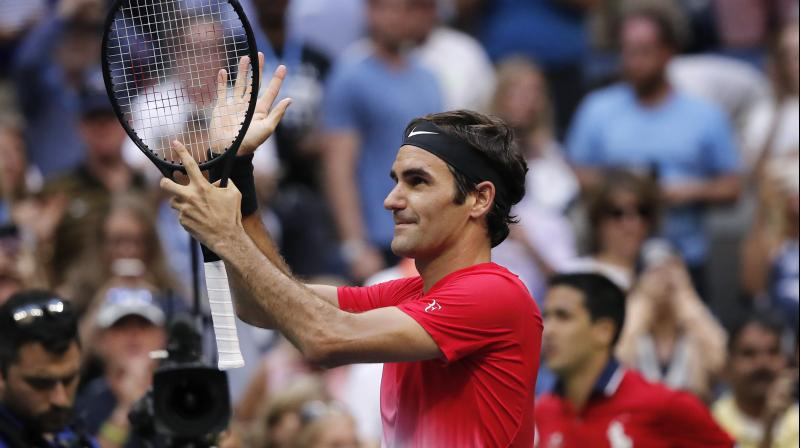 Federer currently holds 95 career titles, sitting at the second spot on the all-time list behind American Jimmy Connors, who bagged 109 titles. (Photo:AP)
