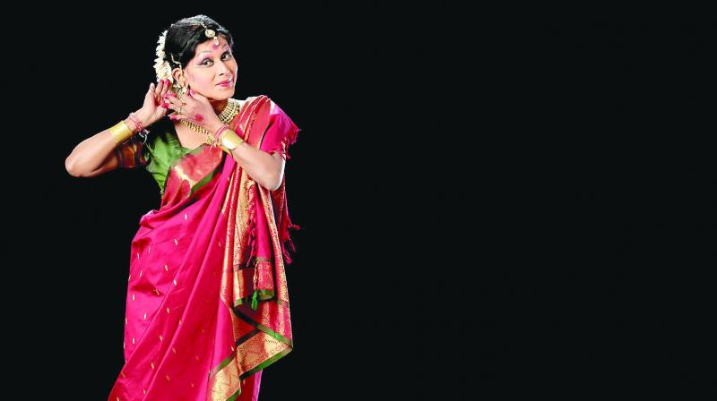 As the danseuse weaves an intricate story through sound, movement and voice, the audience is left entranced.