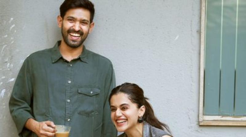 Taapsee Pannu and Vikrant Massey. (Photo: Twitter)