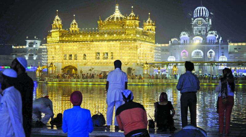 Golden Temple in Amritsar. (Photo: AFP)