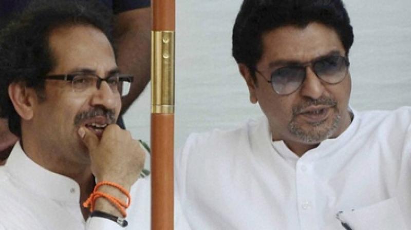 Shiv Sena's Uddhav Thackeray and Maharashtra Navnirman Sena chief Raj Thackeray (Photo: PTI)