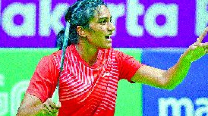 P.V. Sindhu is expected to have a smooth run into the semis. (Photo: PTI)