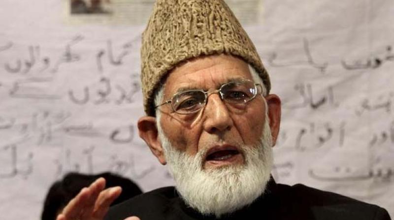 Separatist patriarch Syed Ali Shah Geelani (Photo: File)