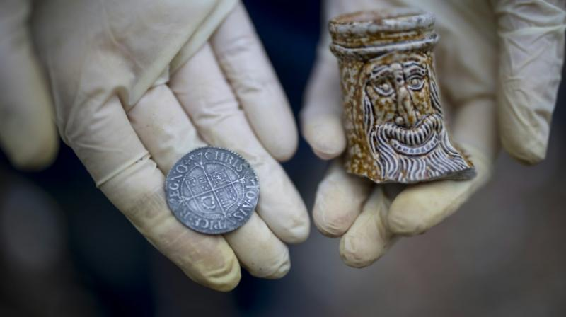 All findings by mudlarks are preserved in association with the Museum of London. (Photo: AFP)