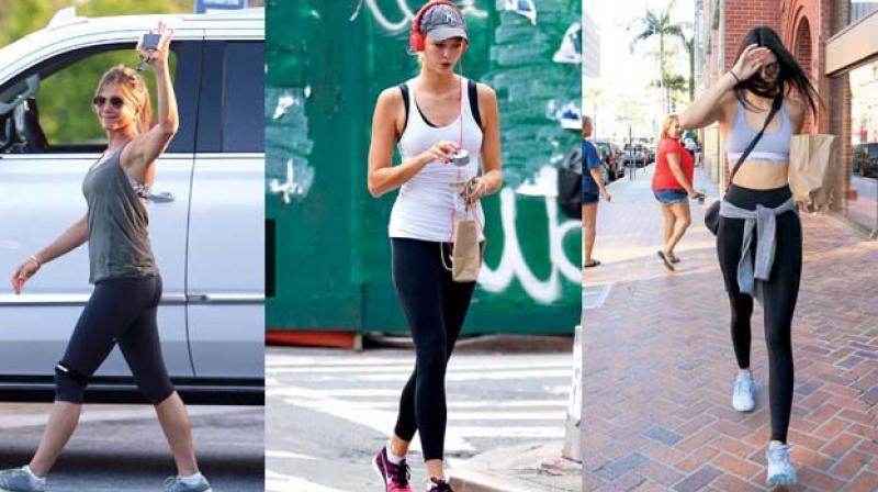Jennifer Aniston, Karlie Kloss and Kendall Jenner