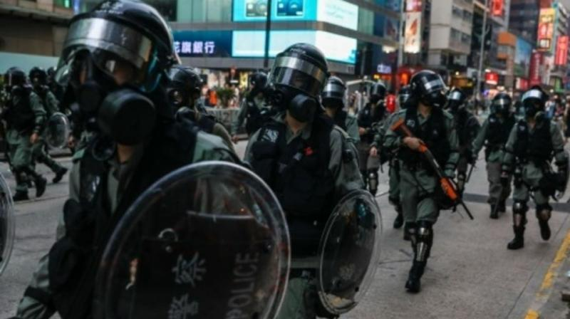A Hong Kong court has banned people from publishing a wide range of personal details about police officers and their families, including photos, in a bid to halt