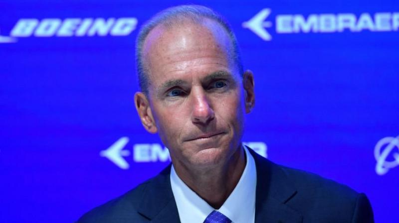 Boeing Co Chief Executive Dennis Muilenburg will acknowledge on Tuesday that the aircraft manufacturer made mistakes, as he appears at a congressional hearing on two 737 MAX crashes that killed 346 people, according to written testimony made public on Monday. (Photo: AFP)