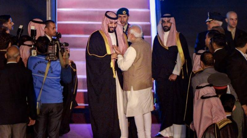 Asked whether Saudi Arabia will increase oil supply to India to address the shortfall due to curb on import of oil from Iran, the envoy said his country is committed to India's energy security and will meet any shortfall that may arise due to disruptions from other sources. (Photo: PTI)