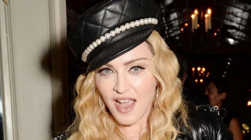 Singer Madonna (Twitter)