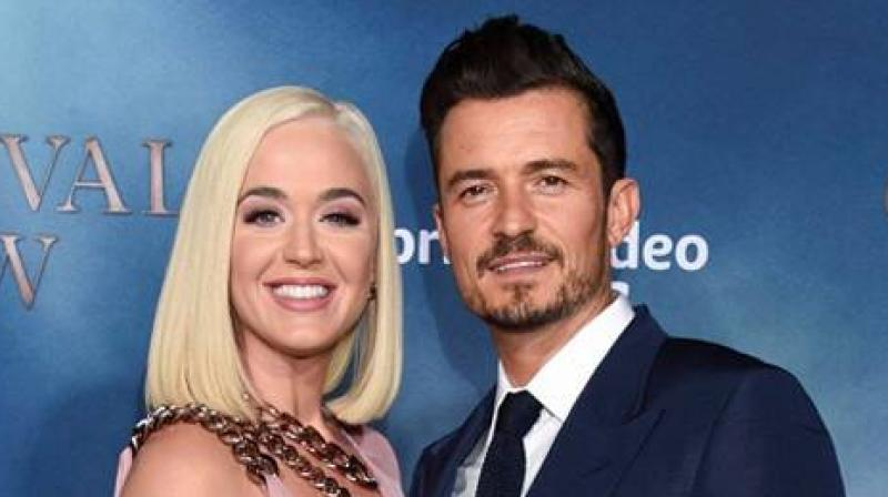 Katy Perry and Orlando Bloom (Twitter)