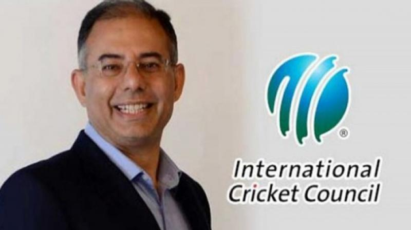International Cricket Council's Chief Executive Manu Sawhney on Thursday announced a partnership with social media giant Facebook for carrying out a range of digital content across four years. (Photo:AFP)