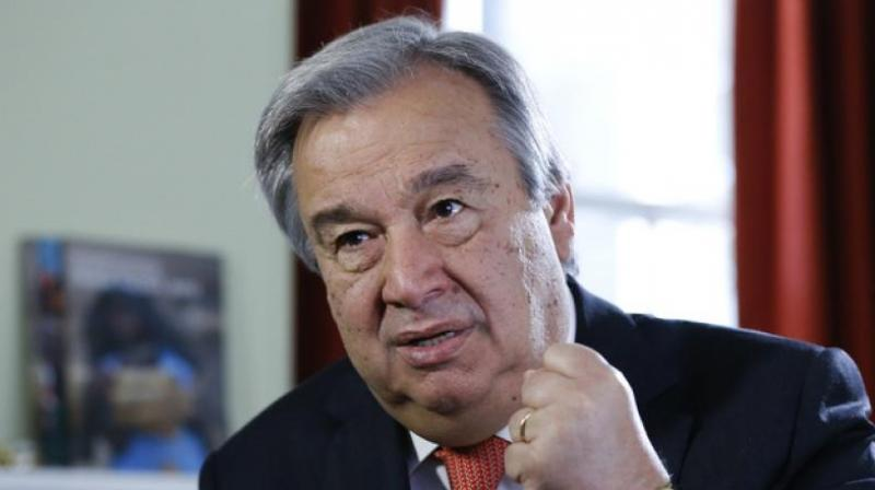 On October 1, Guterres will formally open the new UN House in New Delhi and on October 2, the Secretary-General will participate in the closing session of the Mahatma Gandhi International Sanitation Convention. (Photo: File)