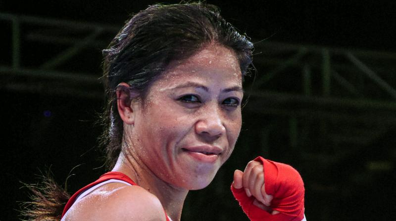 With this win, Mary Kom bettered her own record as the most successful boxer in the history of the marquee tournament. (Photo: PTI)