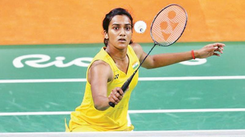 Two-time silver medallist PV Sindhu produced a commanding performance in her opening match at the BWF World Championships here on Wednesday.