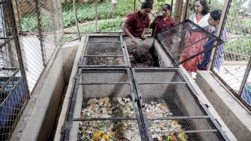 2,206 bulk generators haven't set up waste mgmt plants.