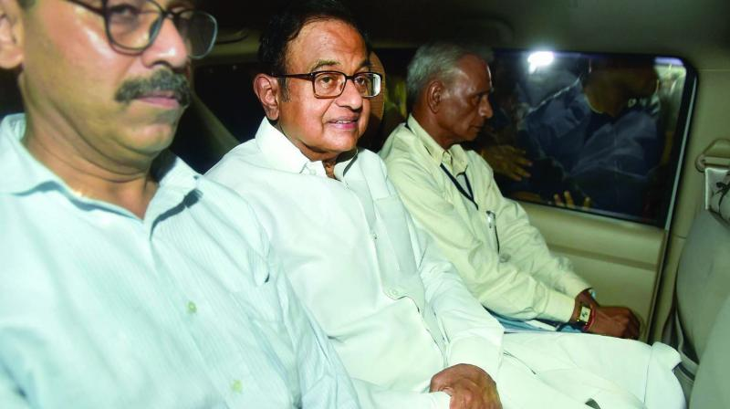 Chidambaram has been kept in the same CBI headquarters building which he inaugurated in 2011. (Photo: PTI)