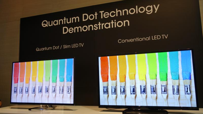 Behold the Quantum Dot technology in the LCD vs AMOLED battle arena