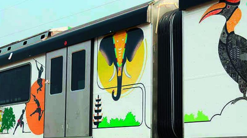 Metro Rail is more than just a dignified mode of travel for the urban commuter.